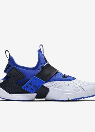 Кроссовки nike air huarache drift white/blue ah7335-103