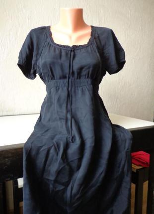 Шикарне плаття, платье esprit, вискоза, шелк, размер 38/40