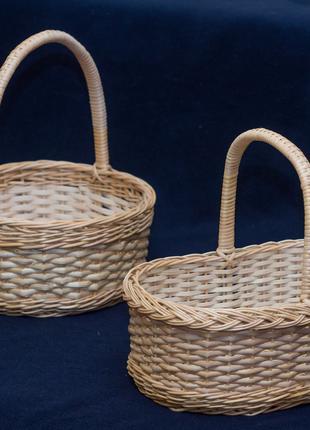 Плетеные корзины для подарочных наборов