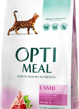 10кг=949грн ! Оптимил OptiMeal корм для котов с ягненком! Днепр.