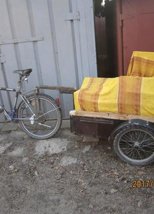 Реконструкция велоприцепа.