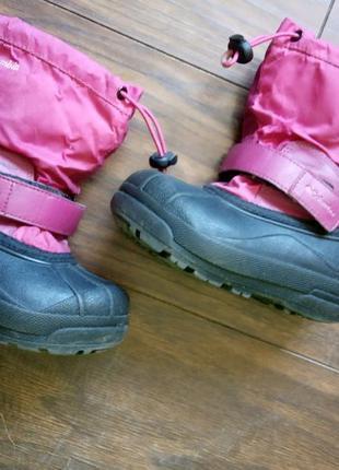 Зимние ботинки от columbia