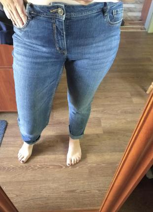 ❤️❤️❤️шикарные джинсы скинни мом