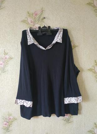 Женская блузка большого размера maine