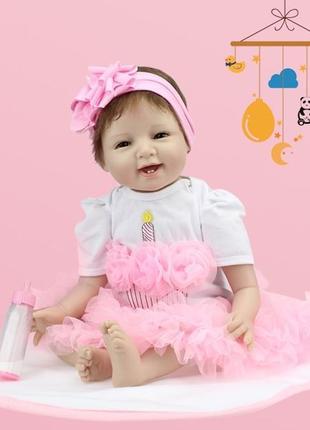 Кукла реборн, девочка, 55 см