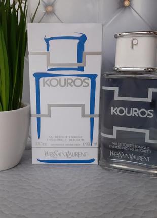 💥оригинал 💥100 мл yves saint laurent kouros eau de toilette to...