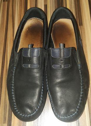 Кожаные туфли нубук для мальчика