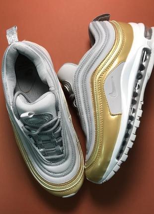 🌹новинка🌹. шикарные женские кроссовки найк nike air max 97 whi...