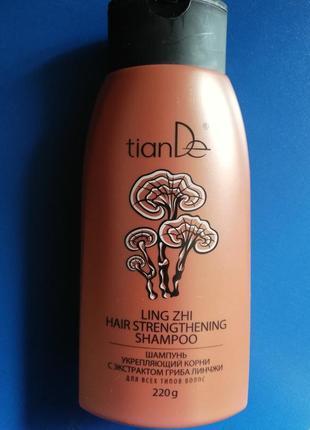 Шампунь от выпадения волос с грибом линчжи