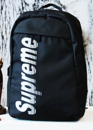 Рюкзак supreme watermelon black портфель черный сумка суприм р...