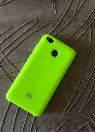 Силиконовый чехол на Xiaomi redmi 4x