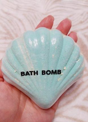 Бомбочка ракушка для ванной