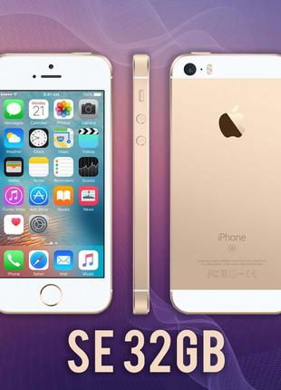 Смартфон IPhone SE 32gb Gold NEVERLOCK