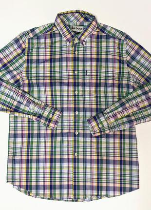 Barbour oxford рубашка оксфорд из свежих коллекций