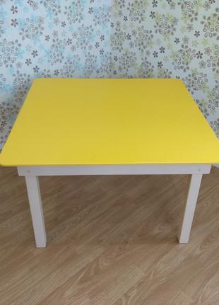 Столик дитячий, парта, стіл дерев'яний, стол детский, садок, сад