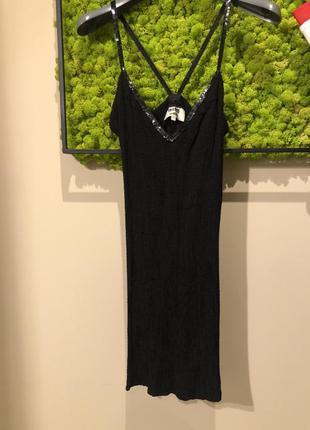 Платье резинка с открытой спиной