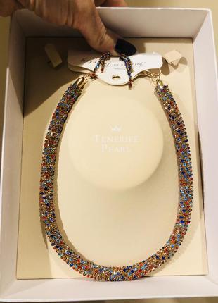 Набор украшений ожерелье и серьги