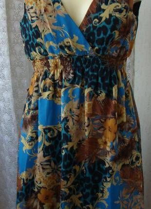Платье женское легкое летнее мини бренд sisters point р.40-42 ...