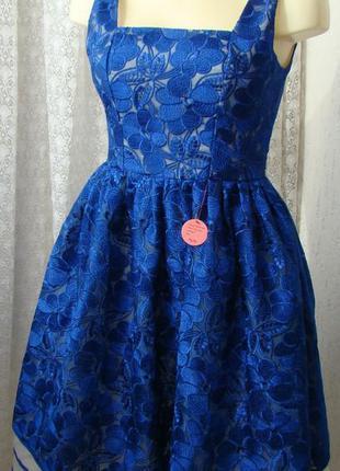 Платье женское вечернее выпускное пышная юбка бренд chi chi р....