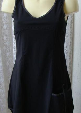 Платье модное серое мини cache cache р.42 №6784а