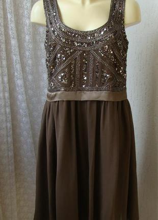 Платье вечернее barbara schwarzer р.48 №7459