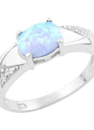 Серебряное кольцо с опалом