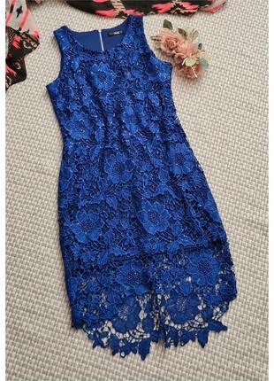 Кружевное платье quiz/кружевное вечернее платье
