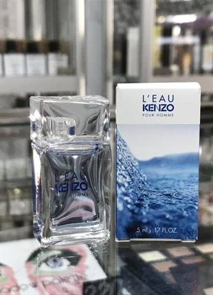 Миниатюра kenzo l'eau pour kenzo pour homme оригинал