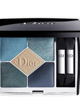 Dior - 5 couleurs eyeshadow palette  в оттенке 279 denim