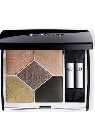 Палетка теней dior - 5 couleurs eyeshadow palette  в оттенке ...