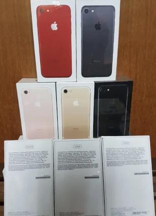 IPhone 7 32/128GB новый в пленках Silicon/Leather Case в подарок!
