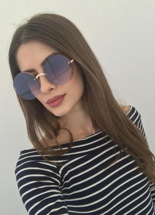 Женские солнцезащитные очки круглые