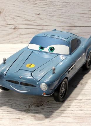"""Машинка из мультфильма """"Тачки 2"""" - механическая игрушка, раритет!"""