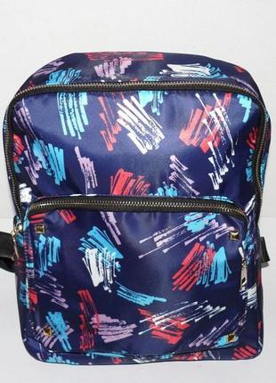 Рюкзак молодежный тканевый
