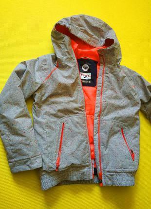 Зимняя лыжная термокуртка roxy на девочку 11-12 лет, 146-152 см
