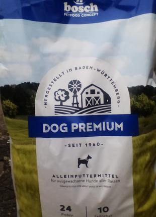 Bosch (Бош) DOG PREMIUM 20 кг
