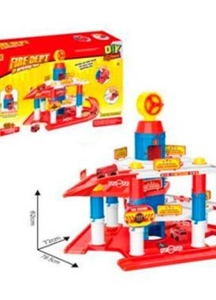 Детский игровой гараж парковка 866-40
