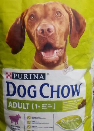 Purina (Пурина) Dog Chow (Дог Чау) ягненок с рисом 14кг