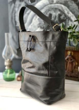 Next. большая сумка из натуральной кожи.