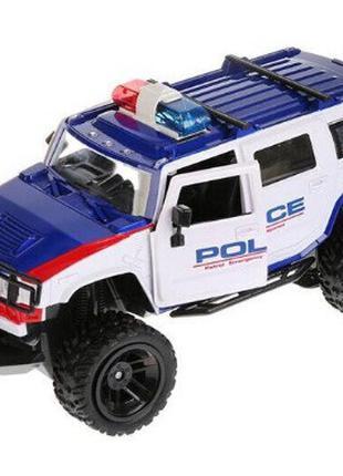 Полицейская машинка джип Хаммер на пульте управления