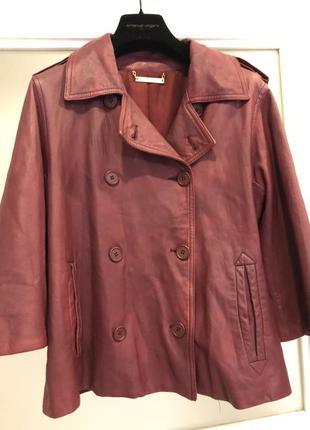 Кожаная куртка ! diane von furstenberg