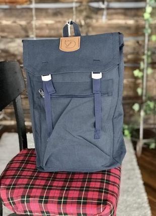 Туристический рюкзак fjallraven foldsack g-1000 blue купить фь...
