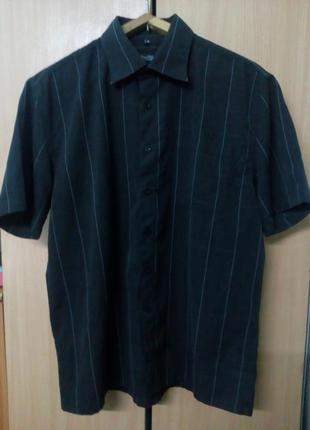 Рубашка мужская короткий рукав размер м