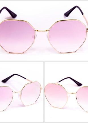 Очки солнцезащитные женские зеркальные