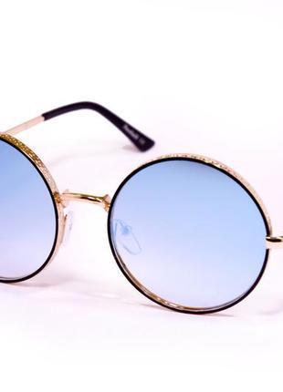 Очки круглые солнцезащитные
