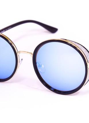 Женские солнцезащитные круглые очки