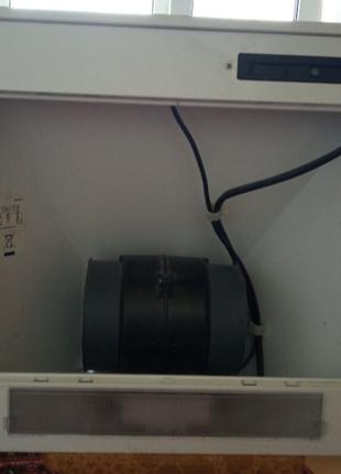 Кухонный Воздухоочиститель каминного типа с подсветкой