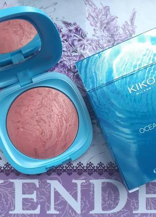 Ocean feel blush запеченные румяна с двухцветным меланжевым эф...