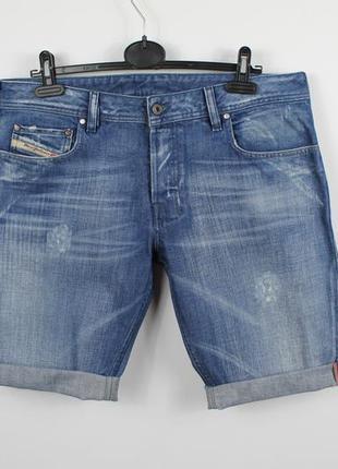 Шикарные оригинальные джинсовые шорты diesel