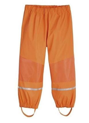 Дождевые штаны lupilu 86-92, 98-104, 122-128р